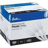 Quill Brand® Medium Heavy-Duty Plastic Cutl...
