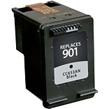 Quill Brand Remanufactured HP 901A Black Standard  Cartridge  (CC653AN) (100% Satisfaction Guarantee