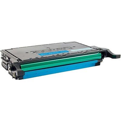 Quill Brand Remanufactured Samsung CLP-670 Cyan Laser Toner Cartridge (100% Satisfaction Guaranteed)