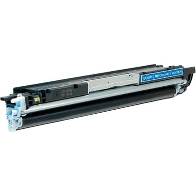 Quill Brand® HP 130 Remanufactured Cyan Laser Toner Cartridge, Standard Yield (CF351A) (Lifetime Warranty)