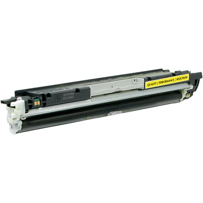 Quill Brand Remanufactured HP 130A Yellow Standard Laser Toner Cartridge  (cf352a) (100% Satisfaction Guaranteed)