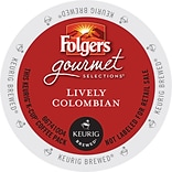 Keurig® Folgers® 100% Colombian Coffee Regular 24 K-Cups/Box (6659)