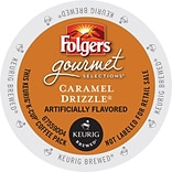 Keurig® Folgers® Caramel Drizzle Coffee; Regular, 24 K-Cups/Box (6680)