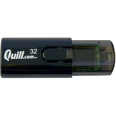 Quill Brand® USB 2.0 Flash Drive; 32GB
