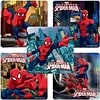 "SmileMakers® Spider-Man™ Stickers; 2-1/2""H x 2-1/2""W, 100/Roll"