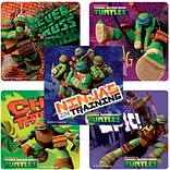 "SmileMakers® Teenage Mutant Ninja Turtles Stickers; 2-1/2""H x 2-1/2""W, 100/Roll"