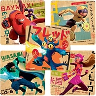 Big Hero 6 Movie Stickers