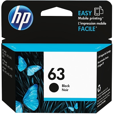 HP 63 Black Standard Yield Ink Cartridge (F6U62AN#140)