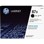 HP 87X High Yield Black Original LaserJet Toner Cartridge; CF287X