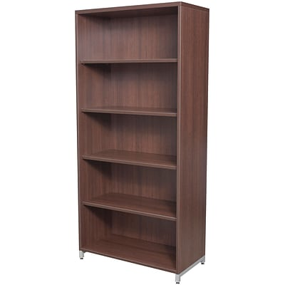 Regency® OneDesk® Collection in Java Finish, 5-Shelf Bookcase