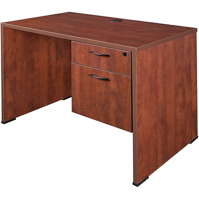 Regency® Sandia Office Collection in Cherry Finish, Right Pedestal Desk