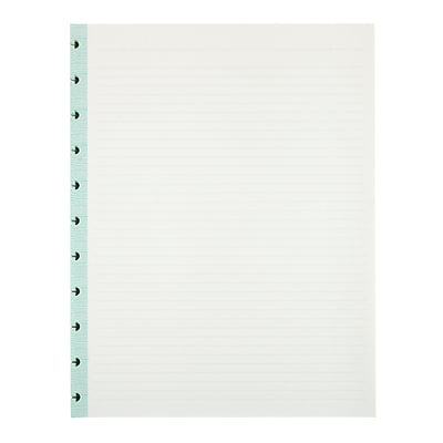 Office by Martha Stewart™ Discbound™ Notebook Filler Paper, Letter-Size, 50 Sheets, Blue (44460)