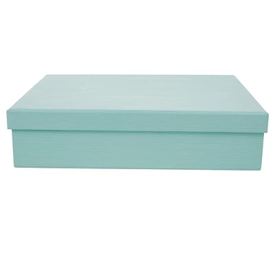 Office by Martha Stewart™  Stack+Fit™ File Box, Blue (28802)