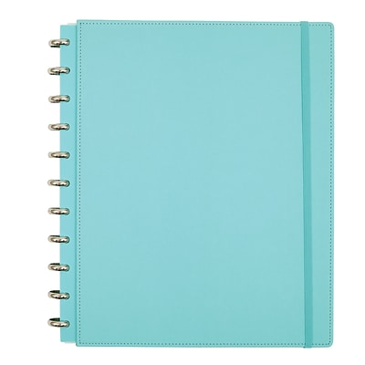 Office by Martha Stewart Discbound™ Customizable Notebook, Letter Size, Blue (44461)
