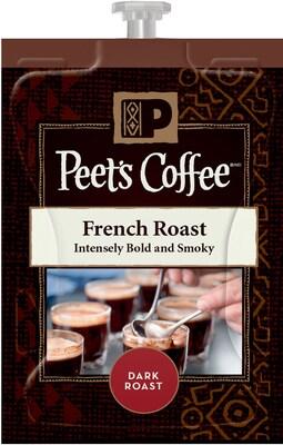 Peet's(r) French Roast Coffee Freshpacks, 72/Ct