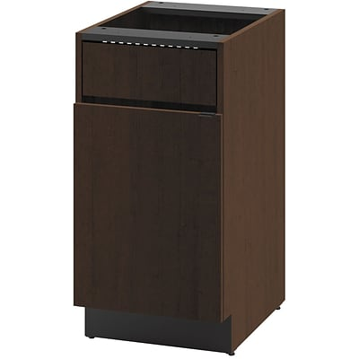 HON® Hospitality Series in Mocha; Door/Access Panel Single Base Cabinet