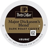 Keurig K-Cup Peets Major Dickasons Blend,...