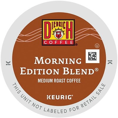 Keurig® K-Cup® Diedrich Morning Edition Blend Coffee, Regular, 24/Pack