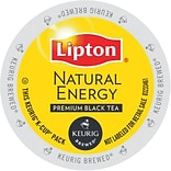 Lipton® Natural Energy Premium Black Tea, Keurig® K-Cup® Pods, 24/Box (86103024)