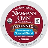 Keurig® K-Cup® Newmans Own® Organics Special Blend Medium Roast Coffee, Regular, 24 Pack