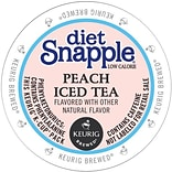 Snapple® Diet Peach Iced Tea, Keurig® K-Cup® Pods, 22/Box (6622)