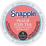 Snapple® Peach Iced Tea, Keurig® K-Cup® Pods, 22/Box (6872)