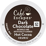 Dark Chocolate Cocoa K-Cup® Packs; 24/Bx
