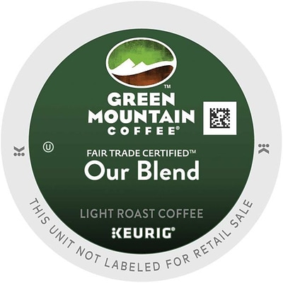 Green Mountain® Our Blend Coffee, Keurig® K-Cup® Pods, Light Roast, 24/Box (6570)
