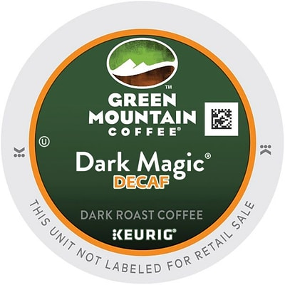 Keurig® K-Cup® Green Mountain® Dark Magic®  Extra Bold Decaf Coffee, Decaffeinated , 24 Pack