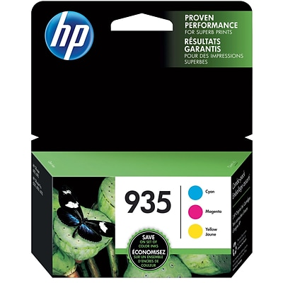 HP 935 CMY Ink Cartridge Combo Multi-pack, 3 Cartridges/Pack