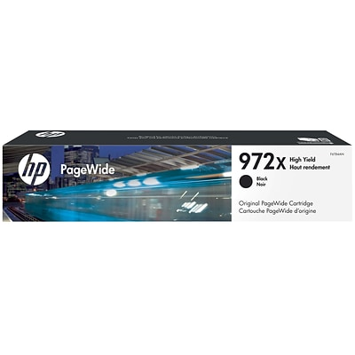 HP 972X Black PageWide Ink Cartridge (F6T84AN), High Yield