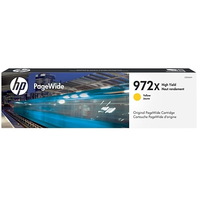 HP 972X Yellow High-Yield PageWide Cartridge (L0S04AN)