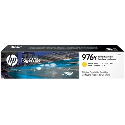 HP 976Y Extra High-Yield Yellow Original PageWide Cartridge