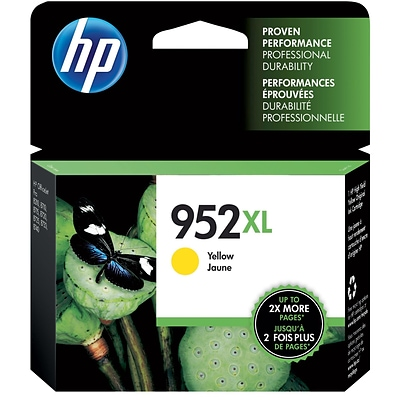 HP 952XL Yellow High-Yield Ink Cartridge (L0S67AN)