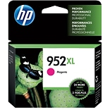 HP 952XL Magenta Ink Cartridge; High Yield (L0S64AN#140)
