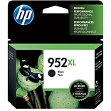 HP 952XL Black Ink Cartridge; High Yield (F6U19AN#140)