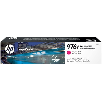 HP 976Y Magenta Ink Cartridge, Extra High Yield