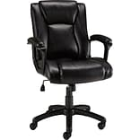 Quill Brand® Bristone Luxura Managers Chair; Black