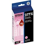 Epson T277XL Light Magenta Ink Cartridge; (T277XL620-S), High Yield