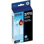Epson T277XL Light Cyan Ink Cartridge; (T277XL520-S), High Yield