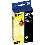 Epson T277XL Yellow Ink Cartridge; (T277XL420-S), High Yield