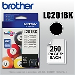 Brother LC201BKS Black Ink; LC201BKS