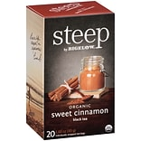 Steep by Bigelow Organic Sweet Cinnamon Bla...