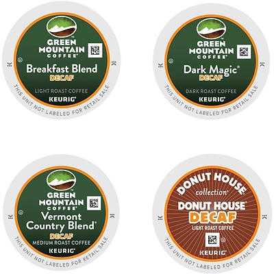 Keurig® K-Cup® Green Mountain® Decaf Coffee Variety, Decaffeinated , 22/Pack