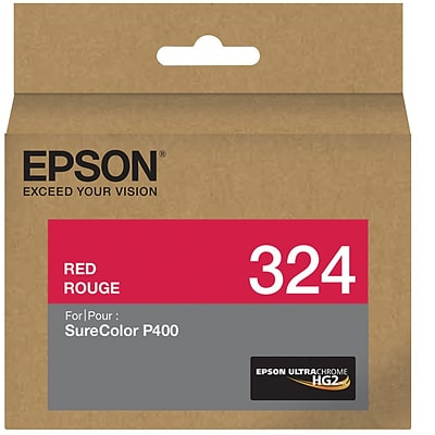 Epson 324 UltraChrome HG2 Red Ink Cartridge (T324720)