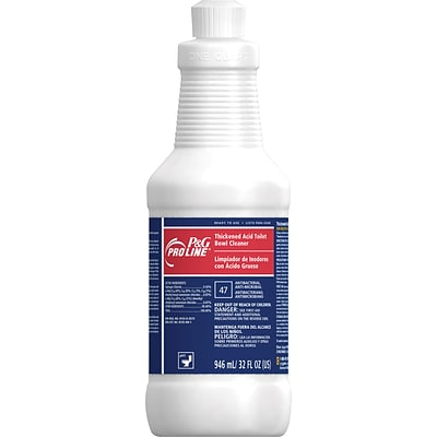 P&G Pro Line® Thickened Acid Toilet Bowl Cleaner, 32 oz ...