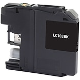 Quill Brand® Remanufactured Brother LC103 Black High Yield  Cartridge  (LC103BKS) (Lifetime Warranty