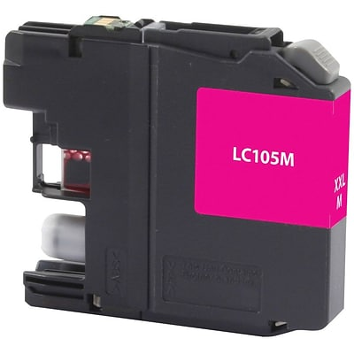 Quill Brand® Remanufactured Brother LC105 Magenta Super High Yield  Cartridge  (LC105C) (Lifetime Warranty)