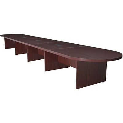 Regency Legacy Oval Conference Room Tables Mahogany W Quillcom - Oval conference room table
