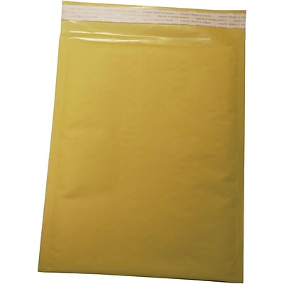 Self Seal #0, 6 X 9 Kraft Bubble Mailer, 250/Pack